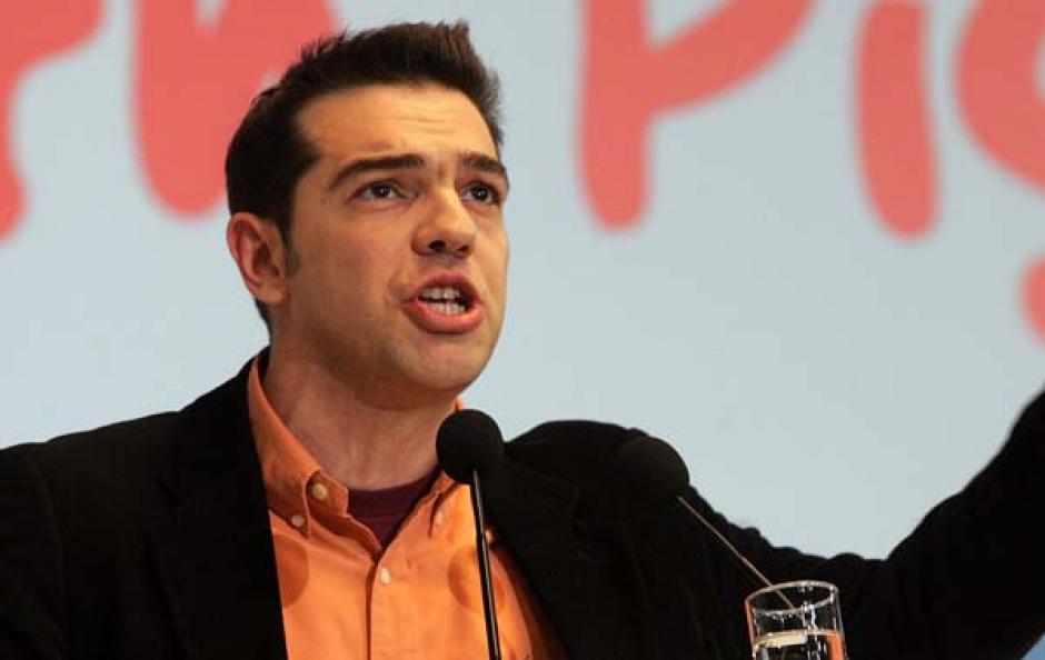 Alexis Tsipras (Grèce) -Président de Synapsismos