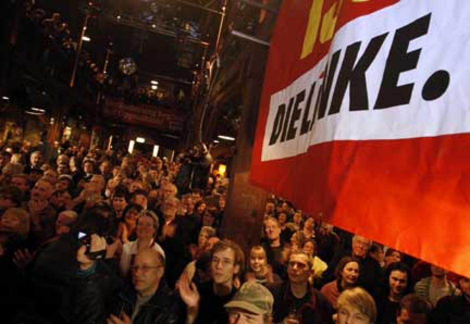 Die Linke (Allemagne) soutient le candidat du Front de gauche
