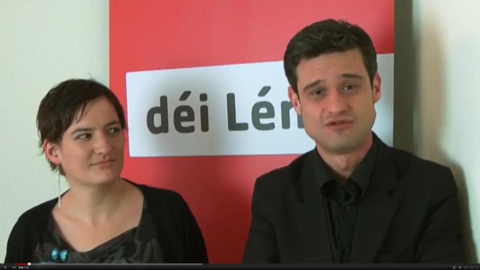 Déi Lénk (Luxembourg) - Message de soutien